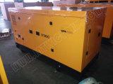 Ce/Soncap/CIQの承認のWeifangエンジンR6105zdを搭載する94kVA無声ディーゼル発電機