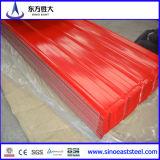 Lamiera sottile d'acciaio ondulata rivestita del tetto di /Color galvanizzata alta quantità