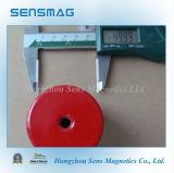 Assemblée magnétique de bac d'aimants permanents pour le serrage