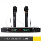 Fachmann VHF-drahtloses Mikrofon-Systems-Karaoke (CSL-U79)