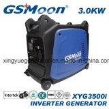 4-Stroke 3.0kVA kompakter super leiser Inverter-Benzin-Generator mit Zustimmung