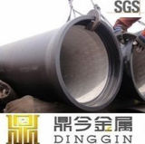 Double Flanged Ductile Iron Pipes des Dreiecks mit Puddle
