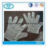 Konkurrierendes China-Fabrik-Aktien-Verkauf Wegwerf-PET Plastikhandhandschuhe