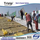 Feuille de toit en métal de matériau de construction