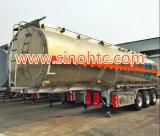 Adr/DOT 증명서 알루미늄 탱크 트레일러