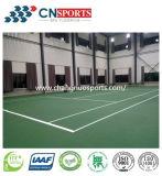 La SPU en caoutchouc de qualité folâtre le plancher de cour (le polyuréthane de silicium)