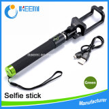 Nueva llegada Buena calidad personalizada Bluetooth Selfie Stick