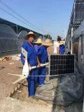 5000W再生可能エネルギー力のハイブリッド小さい風力発電機の太陽電池パネル
