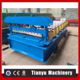 Exportar la hoja de acero estándar de teja y el panel de pared que hace la máquina formando Roll
