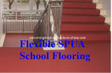 Wear-Resistant 높은 탄력있는 유연한 Spua 학교 마루