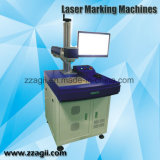 печатная машина гравировки маркировки лазера СО2 10W 30W 60W для кожаный пластмассы