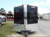 Comprare i camion mobili inclusi galvanizzati del ristorante