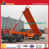 20 FT 25-35tons Hydraulic Skeleton Dumping Contenedor Basculante