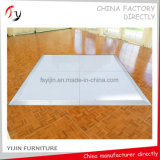 Panneaux de plancher de danse personnalisés sur finition laquée contemporaine (DF-48)
