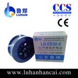 Проводы заварки Aws A5.18 MIG Sg2 низкоуглеродистой стали материальные 0.6mm-2.0mm