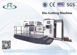 Máquina que corta con tintas automática de la base plana