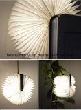 Lampe pliable de livre d'USB Bluetooth DEL