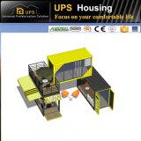 casa modular combinada 40FT expansível do recipiente do bloco liso de 20FT