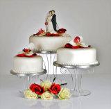 Tribune van de Vertoning van de Cake van de Douane van de fabriek de Acryl voor Verkoop