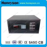 小型電子機密保護の安全ホテルの部屋スマートで安全なボックス