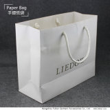 リサイクルされたペーパーが付いているカスタマイズされたペーパーショッピング・バッグ