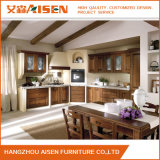 American Classic Custom Brown des armoires de cuisine en bois massif