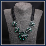Nuevo artículo de la joyería de moda resina acrílica conjunto de collar