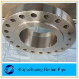 Aço de carbono Steel Flange Forjado Aço de carbono Bsp Threaded Flange