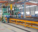 Semi Remolque con 2 ejes la pared lateral de la fabricación