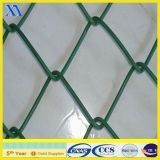 Guard Wire Mesh Fence Panel (XA-CL005)를 위한 5*5cm PVC Coated Galvanized Chain Link Fence