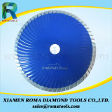 파란 색깔에 있는 Romatools 다이아몬드 터보 잎