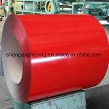 La bobine en acier enduite d'une première couche de peinture/couleur enduite a galvanisé la bobine en acier en acier de /PPGI/PPGL