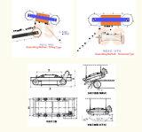 Separatore magnetico permanente a pulizia automatica per cemento, materiale da costruzione