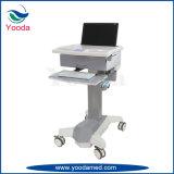 足車が付いている病院そして医学の製品のコンピュータのカート