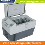 Nouveau congélateur campant solaire mobile portatif campant du réfrigérateur 12V 24V de congélateur de véhicule du produit DC12V/24V