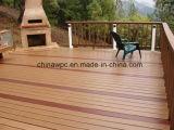 Decking plástico de madeira ao ar livre do composto WPC
