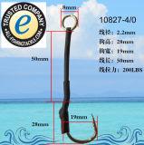 Crochet de pêche en acier inoxydable 10827-C