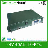 24V a favor do meio ambiente 40ah LiFePO4 Battery para Medical Device
