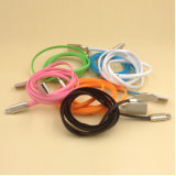Smartphoneのための亜鉛合金のひし形USBの充満ケーブル