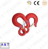 Amo di sollevamento della gru dell'occhio dell'acciaio legato della costruzione della parte girevole per la catena