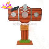 Personalizar la decoración de mesa de Navidad de madera con el Mejor Precio W09D039