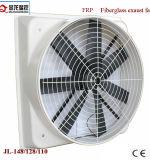 Ventilator van de Uitlaat van Bladen FRP de Industriële