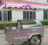 Benin 6, 8, carro Xsflg do gelado de 10 bandejas