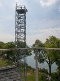 Гальванизированная сталью свободно башня предохранителя стойки