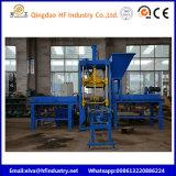 Halb automatische konkrete quadratische Straßenbetoniermaschine Qt3-20 und Habiterra Block-Maschine mit hydraulischem