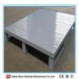 Paleta de acero resistente con el certificado ISO9001 para el almacenaje del almacén