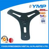 Fresadoras CNC de precisión están ajustadas, revestimiento de polvo -pieza de aluminio óxido negro