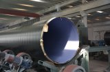 Drie van het Polyethyleen van de Deklaag Lagen van de Pijp van het Koolstofstaal voor Gas