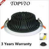 Residencial y Comercial 5W / 7W / 10W / 12W / 15W / 20W / 30W LED COB LED Down luces