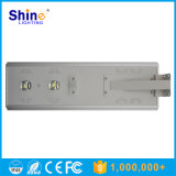 공장 직접 판매 옥외 IP65는 50W 60W 70W 80W 태양 강화한 LED 전원 지역 가로등을 방수 처리한다
